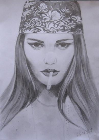 Vanessa Paradis by ElenaVA